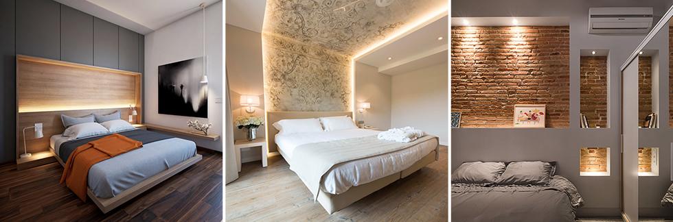 Lampadari per una camera da letto moderna. Illuminazione Camera Da Letto Guida 25 Idee Per Illuminare Al Meglio Camere Da Letto Moderne Start Preventivi