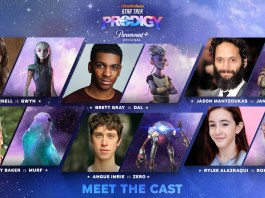 Cast de Star Trek Prodigy - Elenco