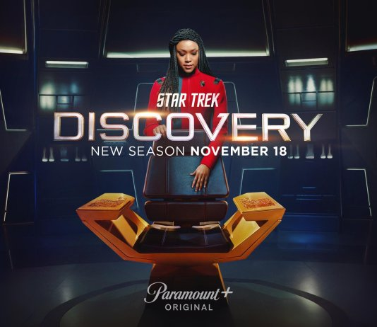 Star Trek DiscoveryTemporada 4 Season 4 Poster