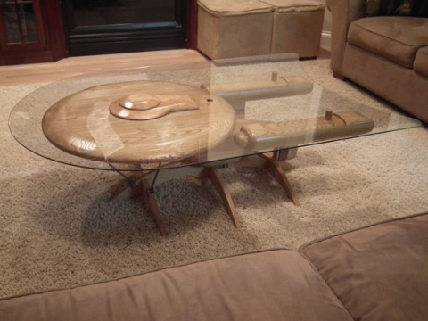 a5e97c2ec3ede6e71101f69d470d0470 USS Enterprise C Coffee Table