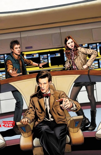 ea8fbb542f7a674aebb6c2431ed712e8 Doctor Who/Star Trek – The Official Crossover