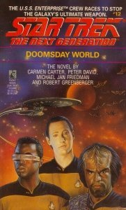 "41KYMH4G5FL. SL500  181x300 ""Star Trek: The Next Generation: 12 Doomsday World"" Review by Deep Space Spines"