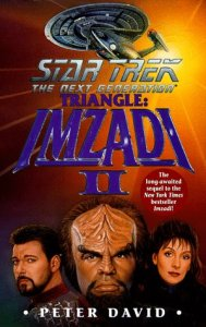 "41PVP2GQGJL. SL500  189x300 ""Star Trek: The Next Generation: Triangle: Imzadi II"" Review by Trek Lit Reviews"