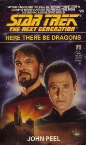 """Star Trek: The Next Generation: 28 Here There Be Dragons"" Review by Deepspacespines.com"