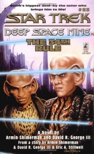 """51X5NWdRIHL 1 """"Star Trek: Deep Space Nine: 23 The 34th Rule"""" Review by Trek Lit Reviews"""