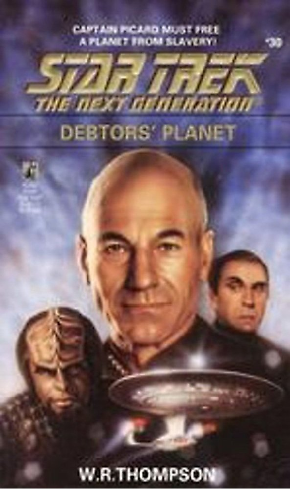 Star Trek: The Next Generation: 30 Debtors' Planet Review by Deepspacespines.com
