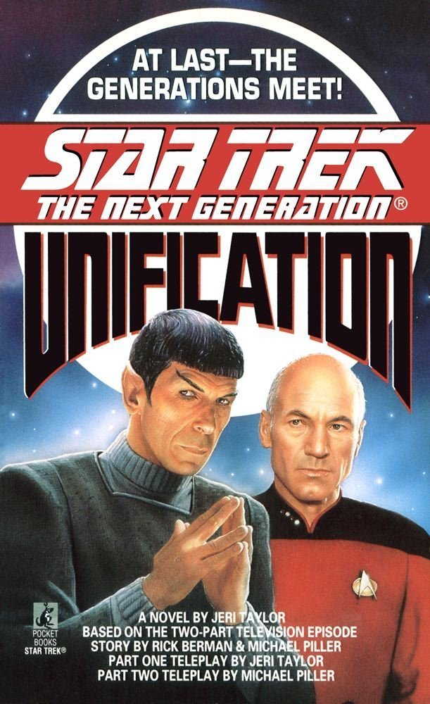 Star Trek: The Next Generation: Unification Review by Deepspacespines.com