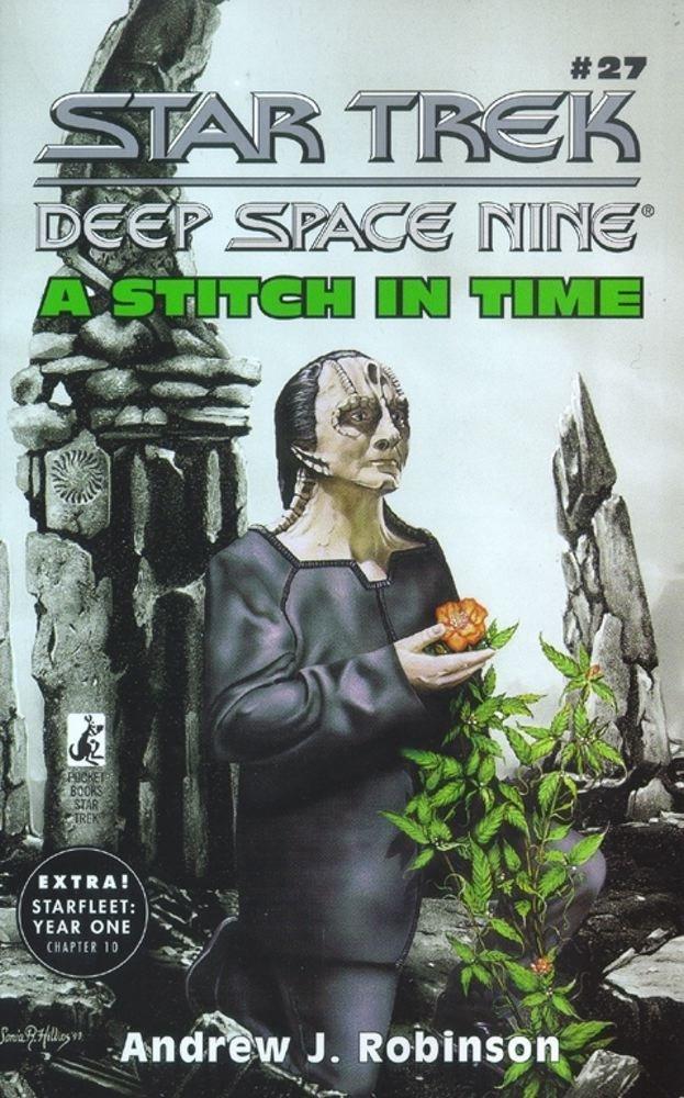 "A Stitch in Time ""Star Trek: Deep Space Nine: 27 A Stitch In Time"" Review by Trek Lit Reviews"