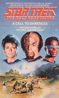 """Star Trek: The Next Generation: 9 A Call To Darkness"" Review by Deep Space Spines"