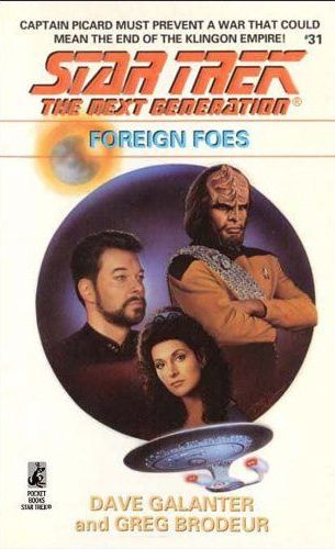 Star Trek: The Next Generation: 31 Foreign Foes Review by Deepspacespines.com