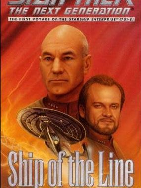 """Star Trek: The Next Generation: Ship Of The Line"" Review by Trek Lit Reviews"