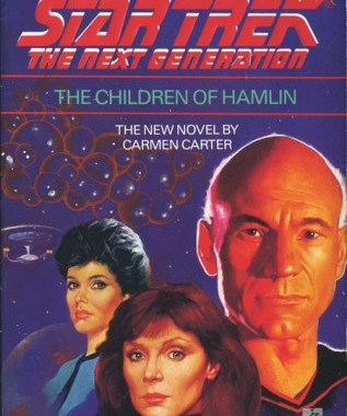 """Star Trek: The Next Generation: 3 The Children Of Hamlin"" Review by Deep Space Spines"