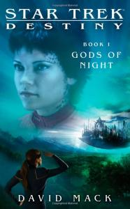 star trek destiny book 1 gods of night COVER 186x300 Star Trek Book Deal Alert! Star Trek: Destiny Series for only 99 cents each!