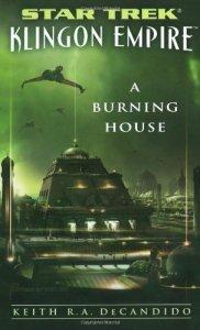 "51JJbBXfVCL 182x300 ""Star Trek: Klingon Empire: A Burning House"" Review by Trek Lit Reviews"