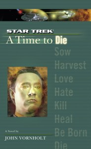 "cvr9781471107467 9781471107467 hr 184x300 ""Star Trek: the Next Generation: A Time To Die"" Review by Trek Lit Reviews"