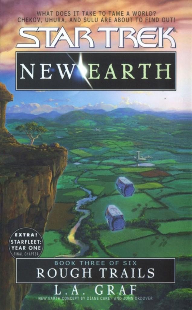 "cvr9781471106453 9781471106453 hr 636x1024 ""Star Trek: New Earth: Book 3: Rough Trails"" Review by Trek Lit Reviews"