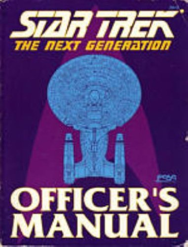 Star Trek: The Next Generation: Officer's Manual Review by Continuingmissionsta.com