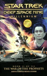 "71aO9YV9qKS 187x300 ""Star Trek: Deep Space Nine: Millennium: 2 The War Of The Prophets"" Review by Trek Lit Reviews"