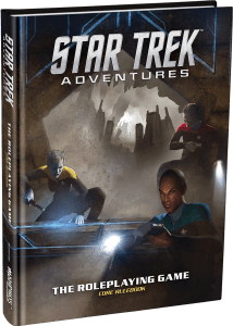 "Star Trek Art Cover Mock Up Promo No Logos 214x300 ""Star Trek Adventures"" Review by Space.com"
