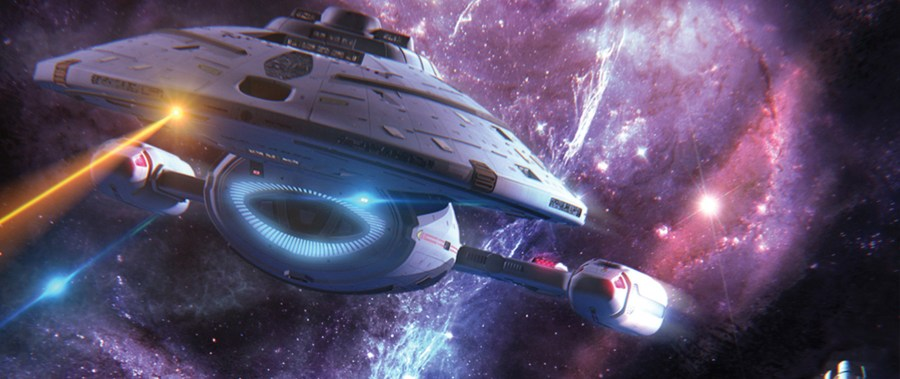 6effdaa6e102d86fc6afc3dbdee41396e3e9d1f3 1024x431 StarTrek.com: FIRST LOOK: Voyager   Architects of Infinity