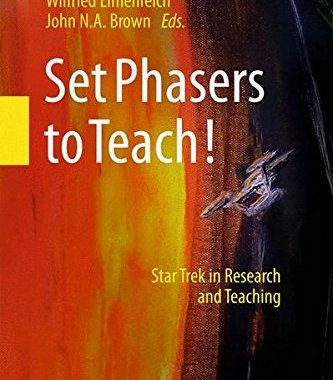 """Cover Added for """"Set Phasers to Teach""""!"""