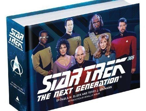 """Star Trek Book Deal Alert! """"Star Trek: The Next Generation 365"""""""