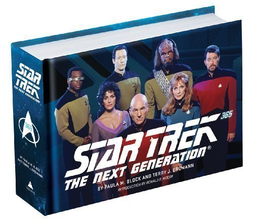 Star Trek The Next Generation 365 Star Trek Book Deal Alert! Star Trek: The Next Generation 365