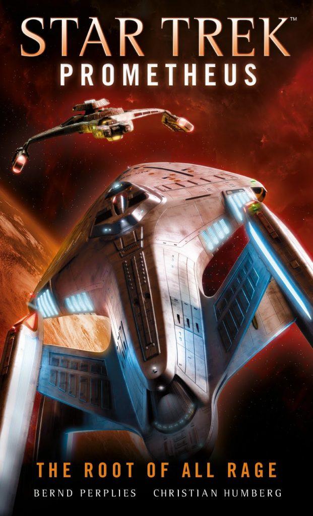 "Titan Books Star Trek Prometheus The Root of All Rage 621x1024 Out Today: ""Star Trek: Prometheus: The Root of All Rage"""