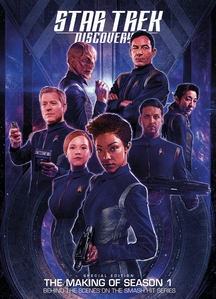 Star Trek Discovery The Official Companion 742x1024 Title change and cover release for Star Trek: Discovery: Collectors Edition 2