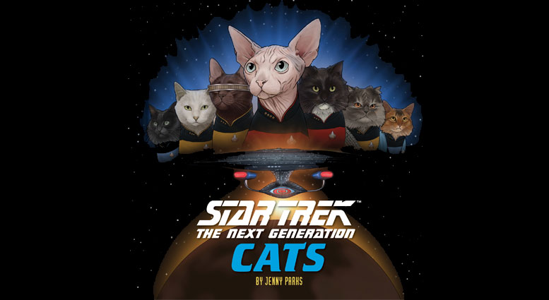 TNG cats featured image Star Trek: The Next Generation: Cats Review by TrekMovie
