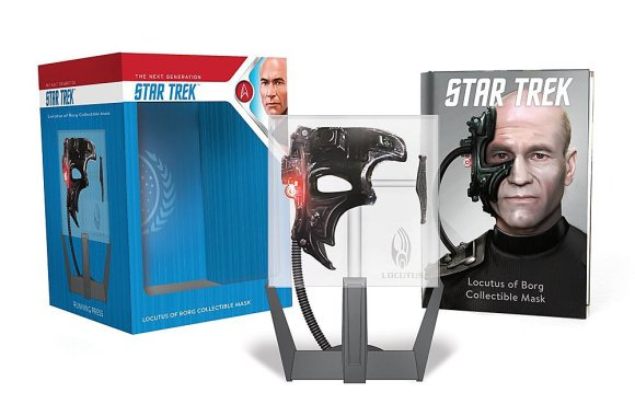 "Out Today: ""Star Trek: Locutus of Borg Collectible Mask: With Light and Sound!"""