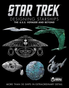"919fSVrWCyL 236x300 Out Today: ""Star Trek Designing Starships Volume 2: Voyager and Beyond"""