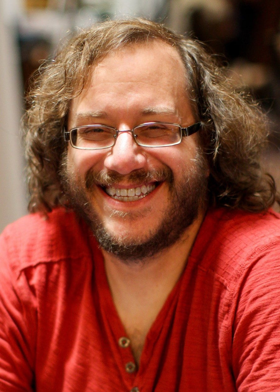 Keith R.A. DeCandido Keith R.A. DeCandido on Decandido discussing his work