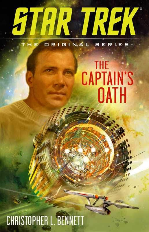 "Gallery Books Star Trek The Original Series The Captains Oath ""Star Trek: The Original Series: The Captain's Oath"" Review by TrekCore"