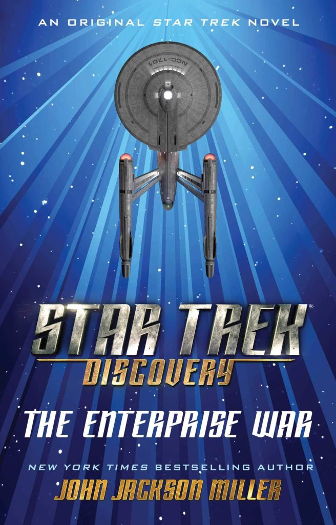 "71K3LTJPL0L2 656x1024 Out Today: ""Star Trek: Discovery: The Enterprise War"""