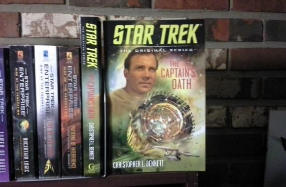 STAR TREK: THE CAPTAIN'S OATH has arrived!