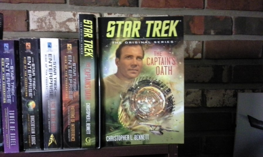 STAR TREK: THE CAPTAIN'S OATH has arrived!