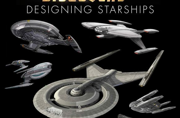 """Out Today: """"Star Trek: Designing Starships Volume 4: Discovery"""""""