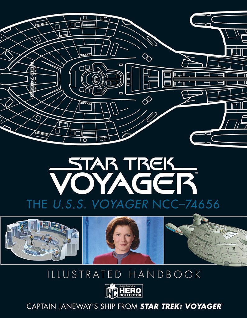 Out Today: Star Trek: The U.S.S. Voyager NCC 74656 Illustrated Handbook: Captain Janeway's Ship from Star Trek: Voyager