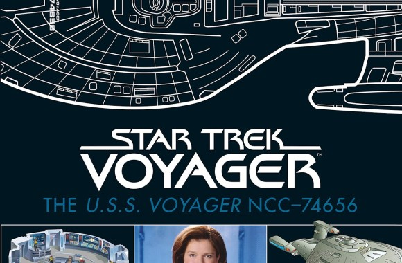 "Out Today: ""Star Trek: The U.S.S. Voyager NCC-74656 Illustrated Handbook: Captain Janeway's Ship from Star Trek: Voyager"""
