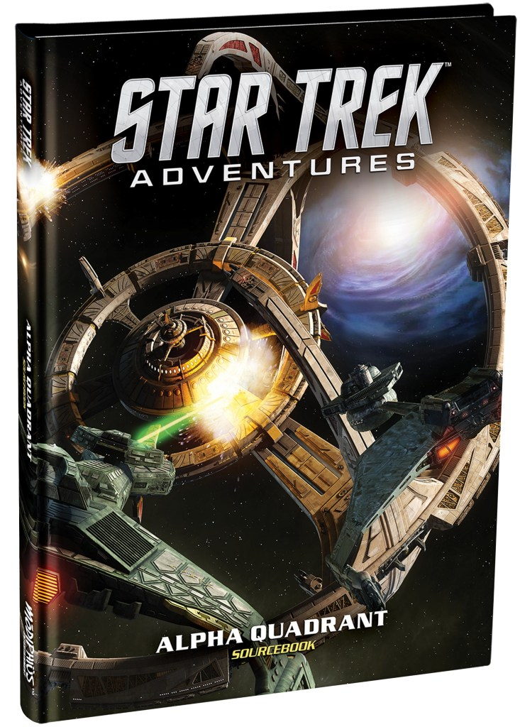 "MUH051066 733x1024 Out Today: ""Star Trek Adventures: Alpha Quadrant Sourcebook"""