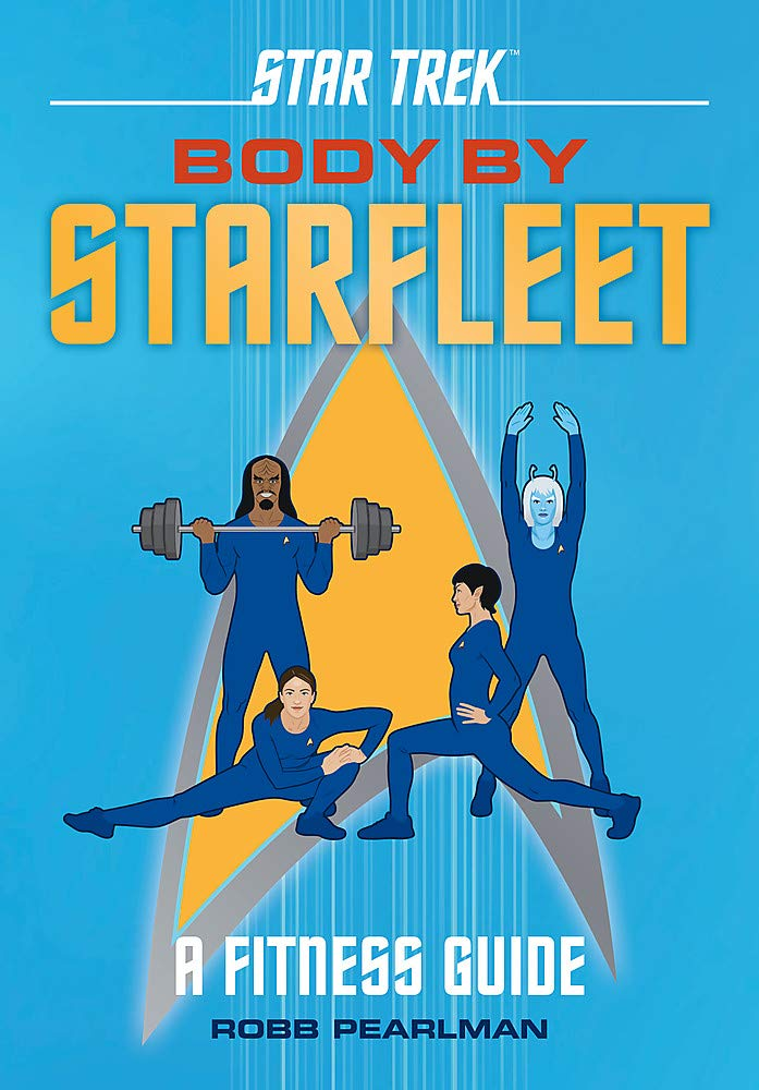 61MU2Sui2CL Star Trek: Body by Starfleet: A Fitness Guide Review by Trek.fm