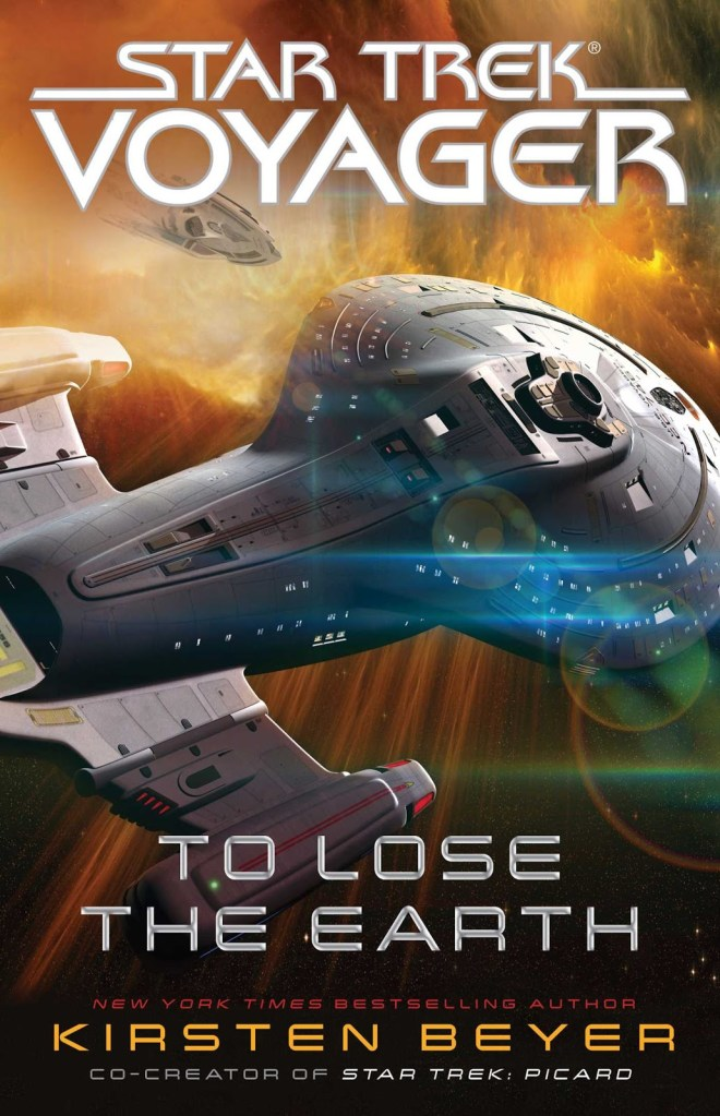 Star Trek: Voyager: To Lose The Earth Review by Womenatwarp.com