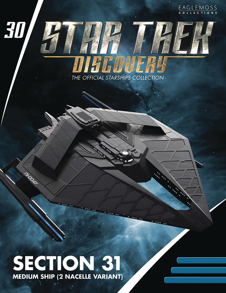 Out Today: Star Trek: Discovery: The Official Starships Collection #30 Section 31 Medium Starship