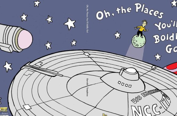 'Star Trek' and Dr. Seuss Mash-Up Not Protected, Court Rules