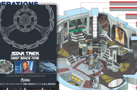 Preview Hero Collector's 'Star Trek: Deep Space Nine Illustrated Handbook'