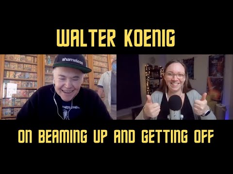 INTERVIEW! Walter Koenig on his book Beaming Up and Getting Off: Life Before and Beyond Star Trek
