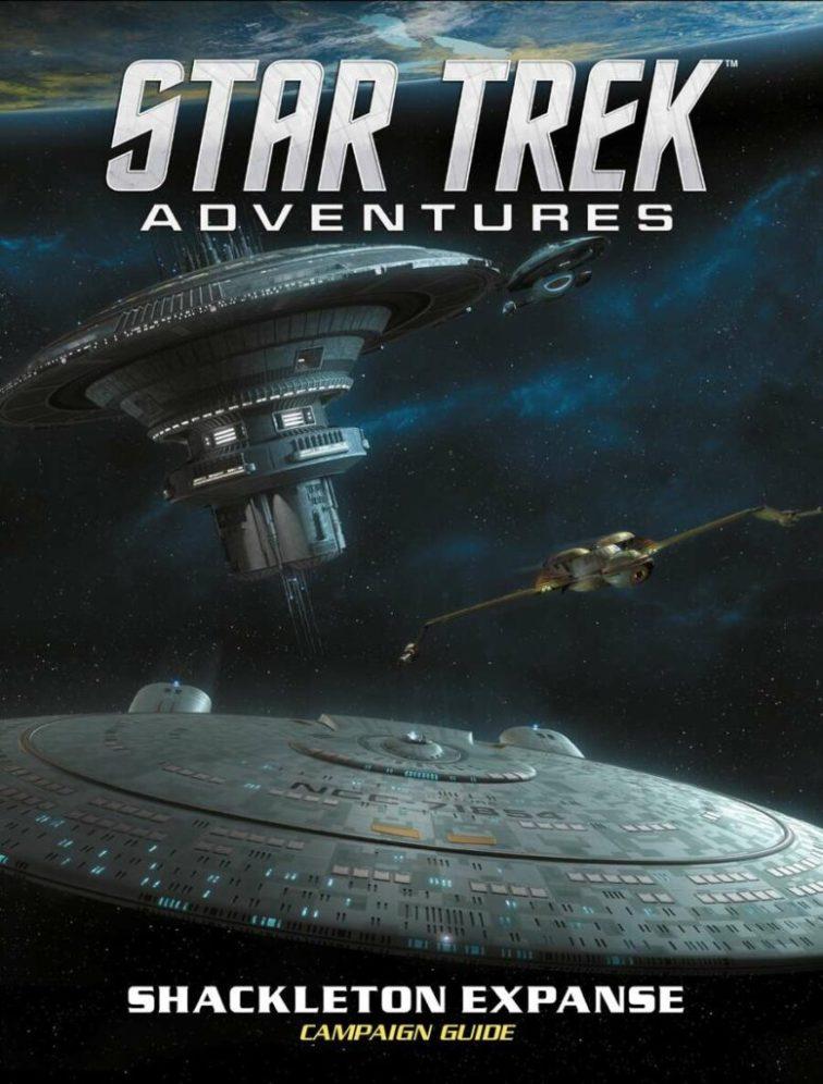 shackletonexpanse cover 777x1024 Star Trek Adventures Shackleton Expanse Campaign Guide Review by Continuingmissionsta.com