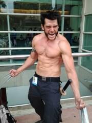 A very hunky Wolverine