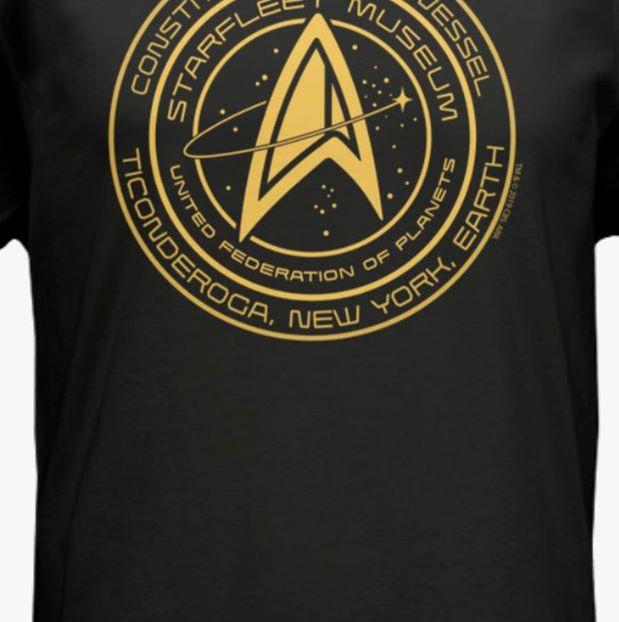 Star Trek Tour Museum T-Shirt